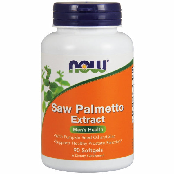 Now Foods Saw Palmetto Extract - 90 Sgels