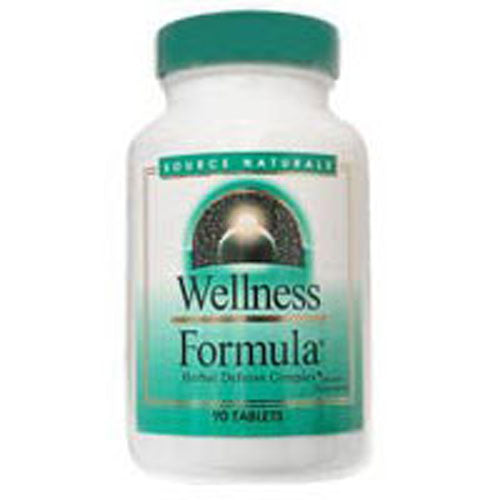 Wellness Formula Tablets Bio-Aligned 45 Tabs by Source Naturals #1 Immune Formula Considered as Dietary SupplementNow With Metabolic C