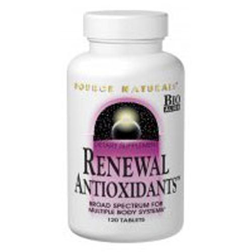 Renewal Antioxidants 30 Tablets by Source Naturals Dietary SupplementBroad Spectrum For Multiple Body System*