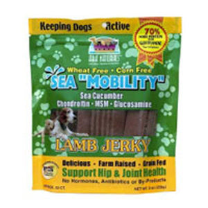 Sea Mobility For Allergic Dogs Venison Jerky - 9 Oz
