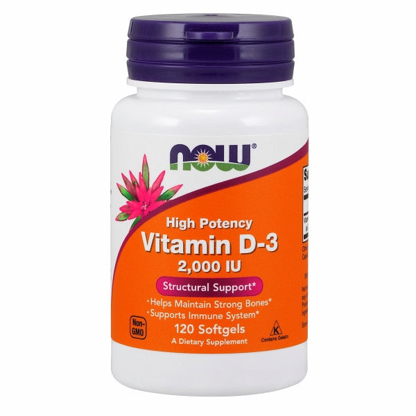 Vitamin D-3 120 Sgels by Now Foods Vitamin D-3 softgels supply this key vitamin in a highly absorbable liquid softgel form. Vitamin D is normally obtained from the diet or produced by the skin from the ultraviolet energy of the sun. However, it is not abundant in food. As more people avoid sun exposure, vitamin D supplementation becomes even more necessary to ensure that your body receives an adequate supply.