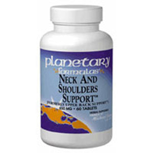 Neck And Shoulder Support 120 Tabs by Planetary Herbals