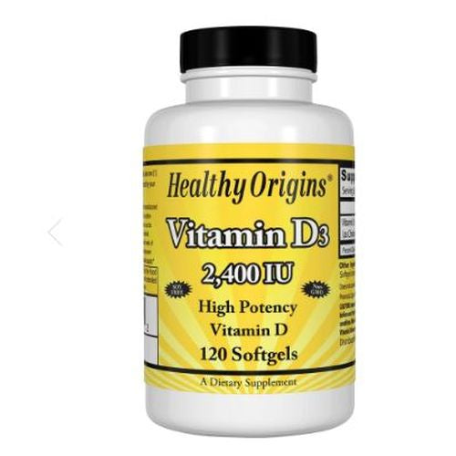 Vitamin D3 2400iu, 120 Sgel by Healthy Origins Considered as Dietary SupplementHigh Potency Vitamin D Non-GMO