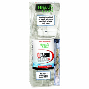 Qcarbo Clear - Straberry Mango, 20 Oz
