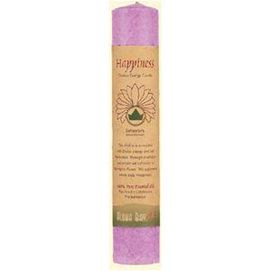 Candle, Chakra Pillar - (happiness) Violet