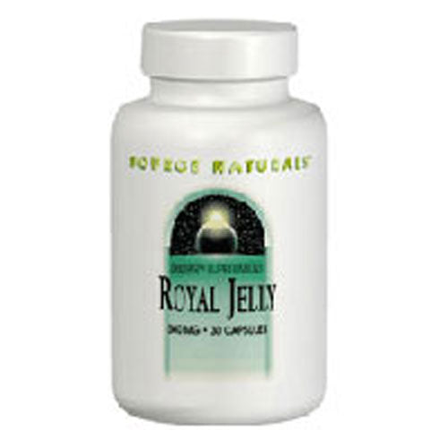 Royal Jelly 60 Caps by Source Naturals