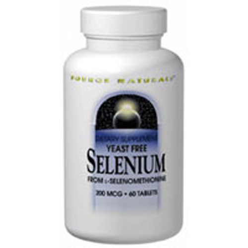 Selenium from L-Selenomethionine 120 Tabs by Source Naturals