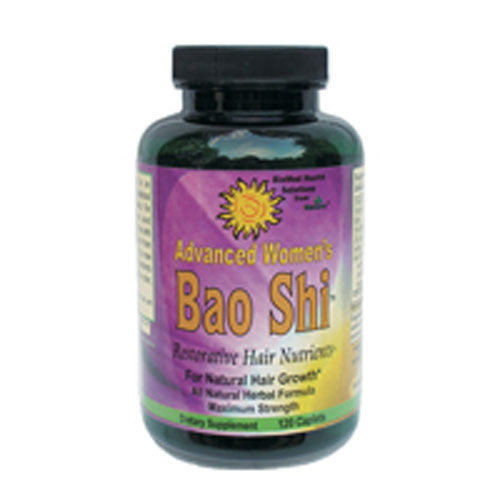 Bao Shi Womens Hair Supplement 120 CAP by BioMed Health Inc All Natural Herbal FormulaConsidered as Dietary SupplementFor Natural Hair GrowthMaximum Strength