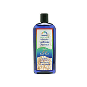 Body Wash Colloidal Oatmeal Lavender 12 Oz by Rainbow Research