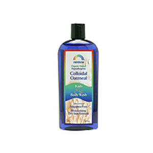 Body Wash Colloidal Oatmeal Unscented 12 Oz by Rainbow Research