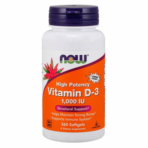 Vitamin D-3 - 360 Softgels