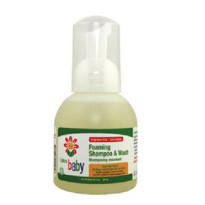 Organic Baby Shampoo & Gentle Wash 12 Oz by Lafes Natural Body Care
