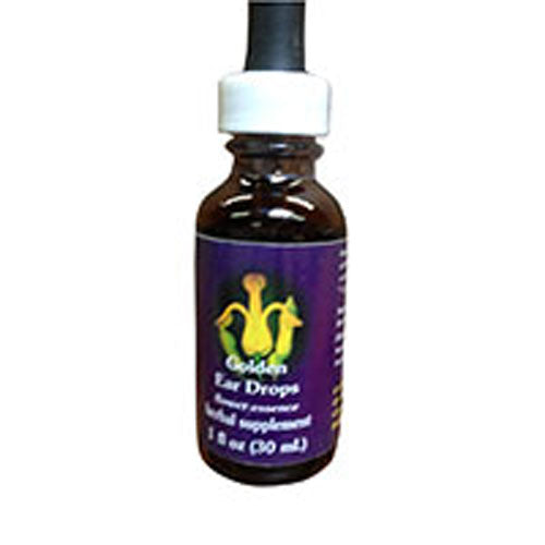 Golden Ear Drops Dropper 1 oz by Flower Essence Services