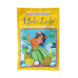 Hula Lula Bubble Bath Tropical Fruit 2.5 oz by Abra Therapeutics