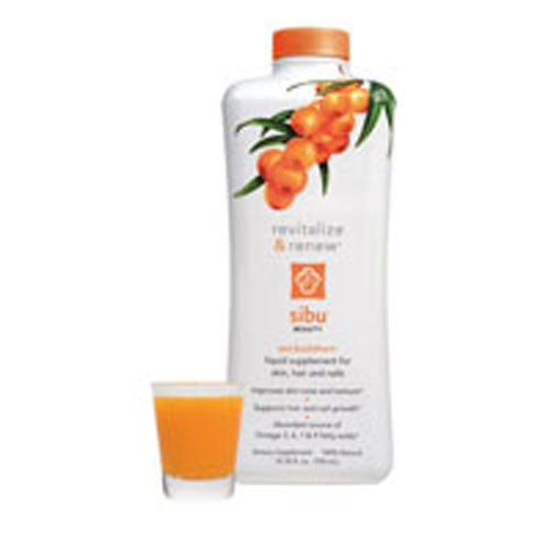 Revitalize Liquid Supplement Drink 25.35 oz by Sibu Beauty All NaturalConsidered as Dietary SupplementImproves Skin Tone and TextureLiquid Supplement for Skin, Hair and NailsOmega 3, 6, 7 & 9 Fatty AcidsPowerful Free Radical Scavenger