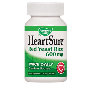 HeartSure Red Yeast Rice - CoQ10 120 Vcaps