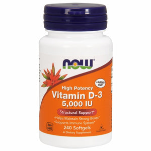 Vitamin D3 5000IU 240 softgels