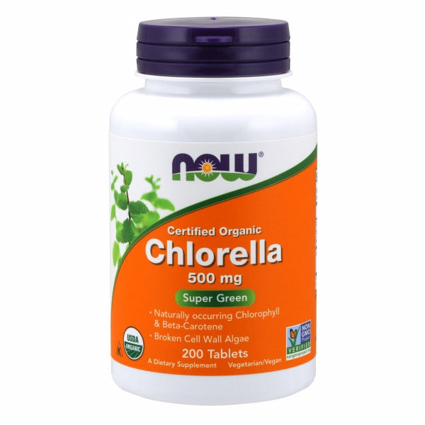 Chlorella 200 Tabs by Now Foods