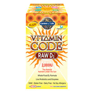 Vitamin Code - RAW D3 60 Caps
