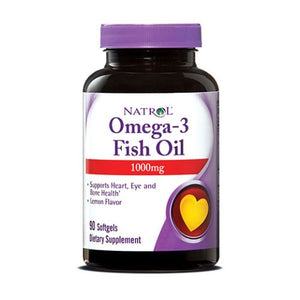Omega-3 Fish Oil 90 Softgels by Natrol