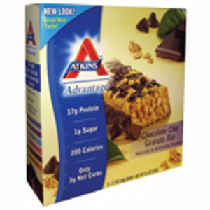 Advantage Bar Chocolate Chip Granola 5 Pkts by Atkins