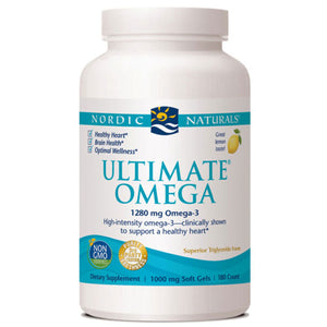 Ultimate Omega 180 ct by Nordic Naturals