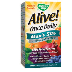Alive Once Daily - Men's 50+ 60 Tabs
