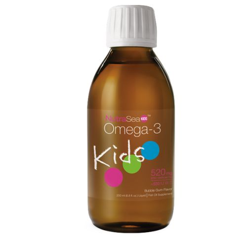 NutraSea Kids Omega 3 Supplement With EPA DHA GLA And Vitamin D Very Berry, 200 ml by Nature's Way Fish OilOmega 3Pure check Quality Guaranteed
