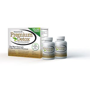 Herbal Clean Premium Detox 7-10 Day Complete Cleansing Program Kit - 1 kit