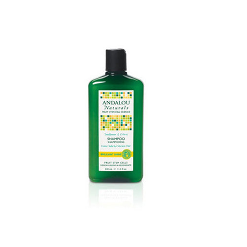Healthy Shine Shampoo Sunflower and Citrus 11.5 oz by Andalou Naturals