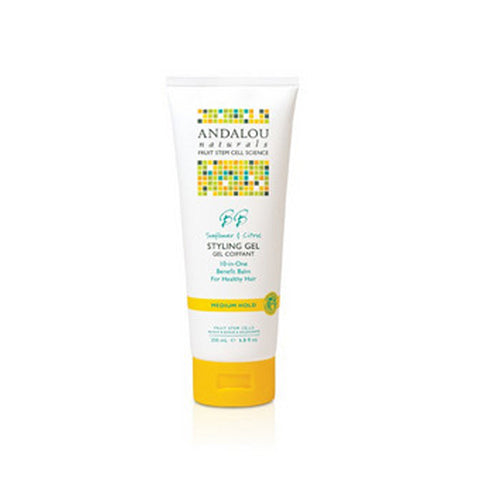 Brilliant Shine Styling Gel Sunflower and Citrus 6.8 oz by Andalou Naturals