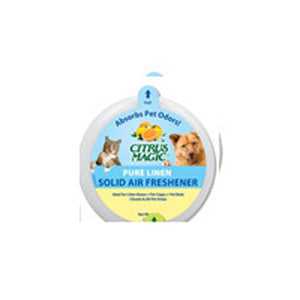 Solid Air Freshener Absorbs Pet Odors - Pure Linen 20 oz