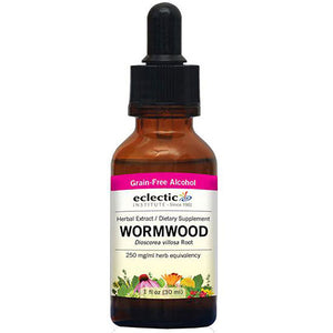 Wormwood 1 Oz with Alcohol by Eclectic Institute Inc