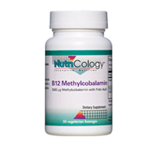 B12 Methylcobalamin with Folic Acid - 50 lozenges