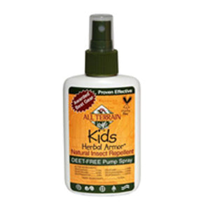 Kids Insect Repellent Herbal Armor Spray - 8 oz
