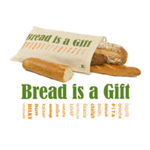 Bread Bag With Graphics 1 Each by Eco Bags