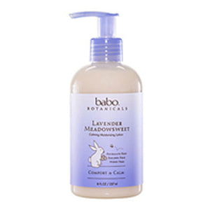 Calming Baby Lotion Lavender 8 oz by Babo Botanicals