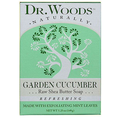 Castile Bar Soap Cucumber 5.25 oz by Dr.Woods Products