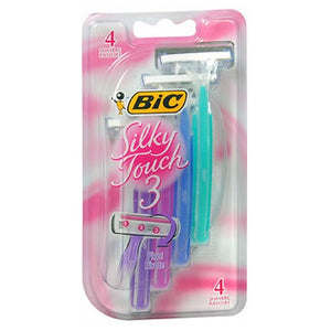 Silky Touch 3 Shavers For Women - 4 each