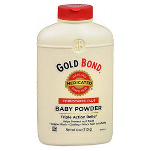 Gold Bond Medicated Baby Powder Cornstarch Plus