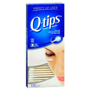 Q-Tips Flexible Cotton Swabs - 170 each