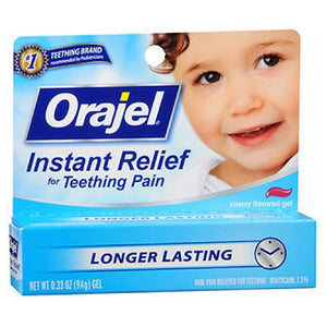 Baby Orajel Teething Pain Medicine For Fast Teething Pain Relief - 0.33 oz