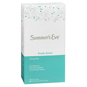 Summers Eve Douche Fresh Scent Summers - 2 X 4.5 oz