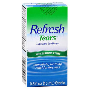 Refresh Tears Lubricant Eye Drops - 15 ml