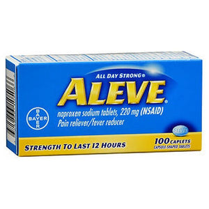 Aleve All Day Strong Pain Reliever And Fever Reducer - 100 Caplets