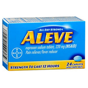 Aleve All Day Strong Pain Reliever And Fever Reducer - 24 Caplets