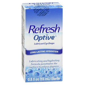 Refresh Optive Lubricant Eye Drops - 15 ml