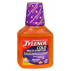 Tylenol Cold Multi-Symptom Liquid Daytime Citrus Burst 8 Oz