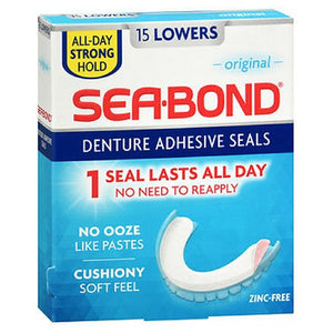Sea-Bond Denture Adhesive Wafers Uppers - Original 15 each