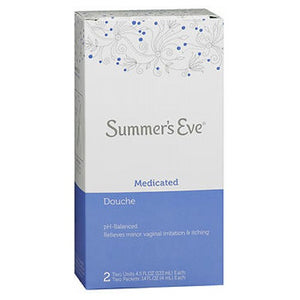 Summers Eve Douche Medicated Summers 2 X 4.5 oz